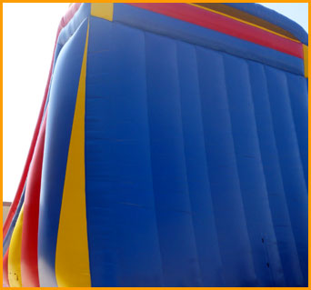 Inflatable 24' Double Climber Slide