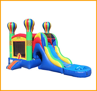 Inflatable 3 in 1 Wet and Dry Adventure Combo