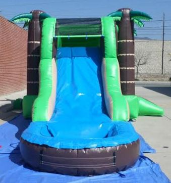 Inflatable 3 in 1 Wet and Dry Tropical Combo C136