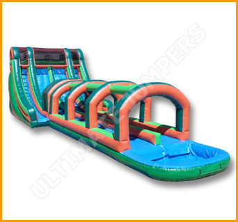 Inflatable Bahama Splish Splash Water Slide