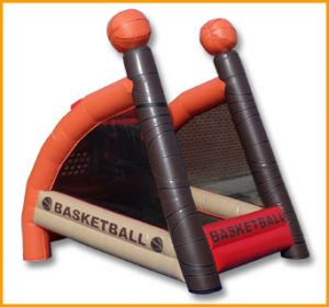 Inflatable Basketball Court