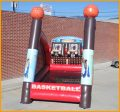 Inflatable Basketball Shoot