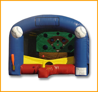 Inflatable Carnival Baseball Unit