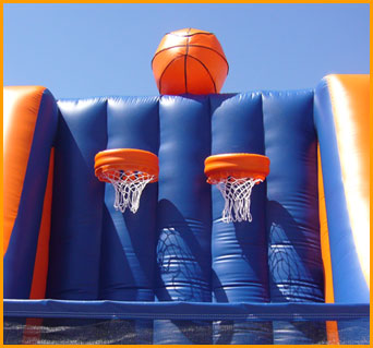 Inflatable Double Basketball Hoops