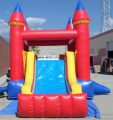 Inflatable Double Direction Castle Module Combo