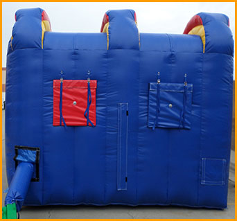 Inflatable Double Lane Bungee Run