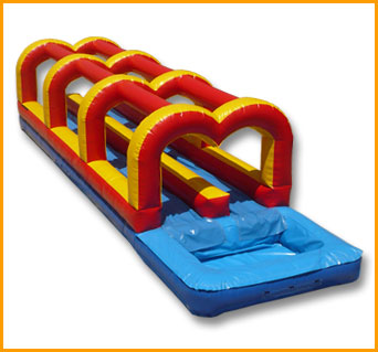 Inflatable Double Lane Slip N Dip