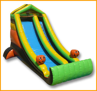 Inflatable Front Load Halloween Slide