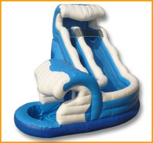 Inflatable Giant Curve Water Slide