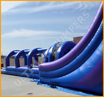 Inflatable Hawaiian Breeze Water Slide