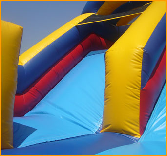 Inflatable Indoor 12' Double Lane Slide