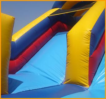 Inflatable Indoor 12' Double Lane Slide