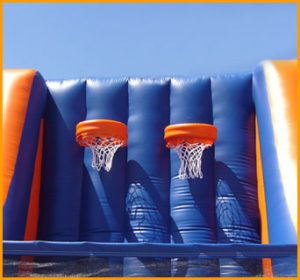 Inflatable Indoor Double Basketball Court
