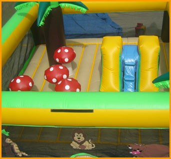 Inflatable Indoor Ultimate Safari