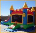 Inflatable King's Castle Bouncer Combo