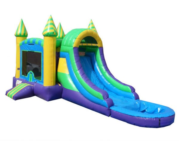 Inflatable Wet Dry Castle Combo