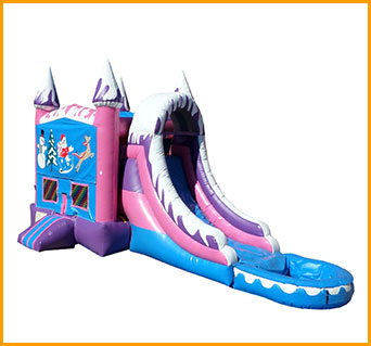 Inflatable Wet Dry Winter Wonderland Combo