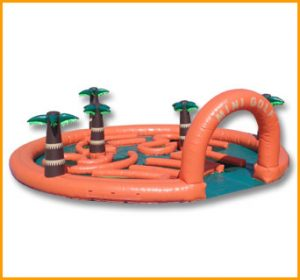 Miniature Golf Course Inflatable