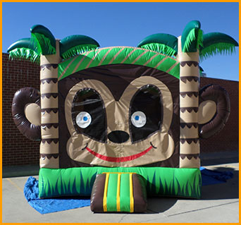 Monkey Inflatable Jumper