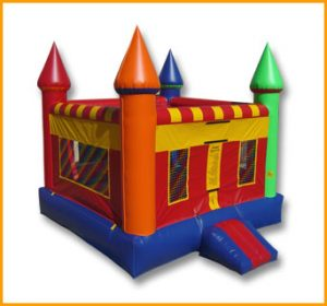 Multicolor Castle Bouncer