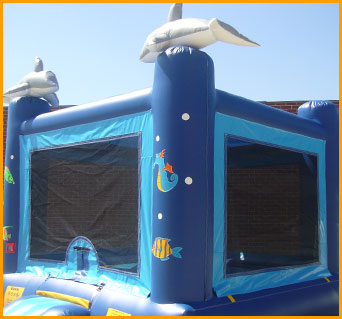 Ocean Inflatable Jumper