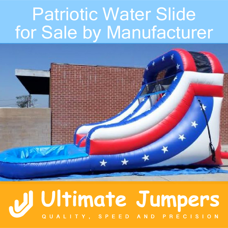 Patriotic Water Slide for Sale by Manufacturer