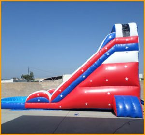 Patriotic Water Slide