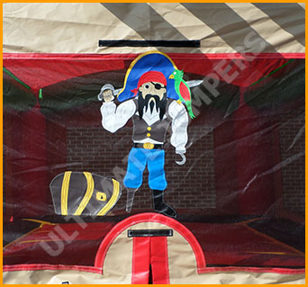 Pirate Ship Inflatable Jumper