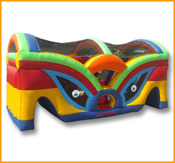 Slide-O-Rama Obstacle Course