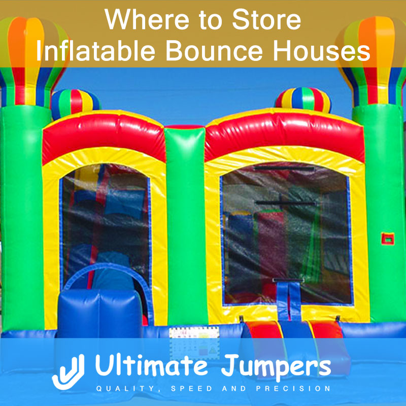 Where to Store Inflatable Bounce Houses