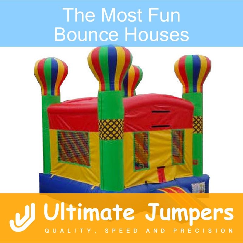 The Most Fun Bounce Houses