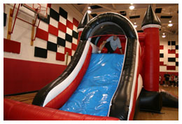 Ultimate Jumpers inflatables used in schools during Physical Education