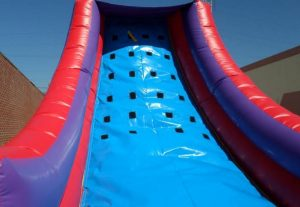 Uphill Challenge Inflatable Rock Climbing Wall