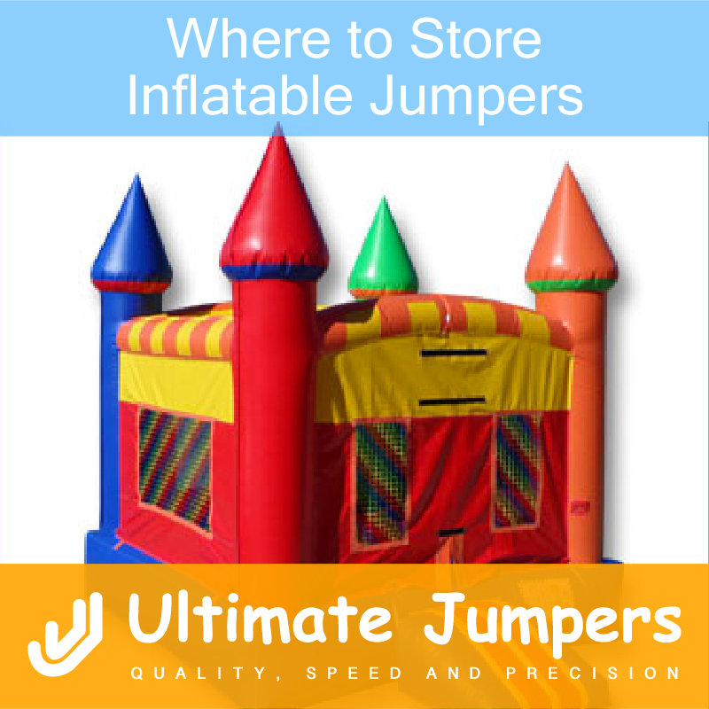 Where to Store Inflatable Jumpers