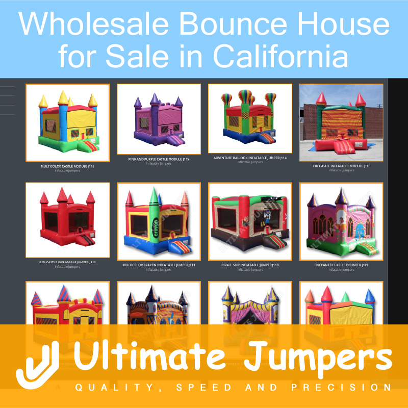 Wholesale Bounce Houses for Sale in California