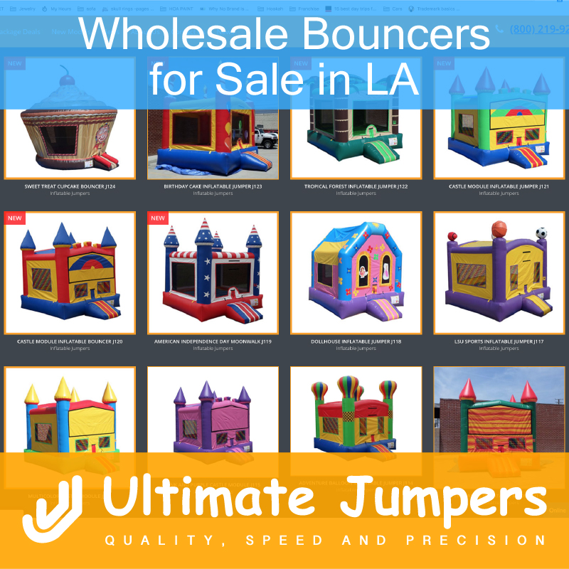 Wholesale Bouncer for Sale in LA