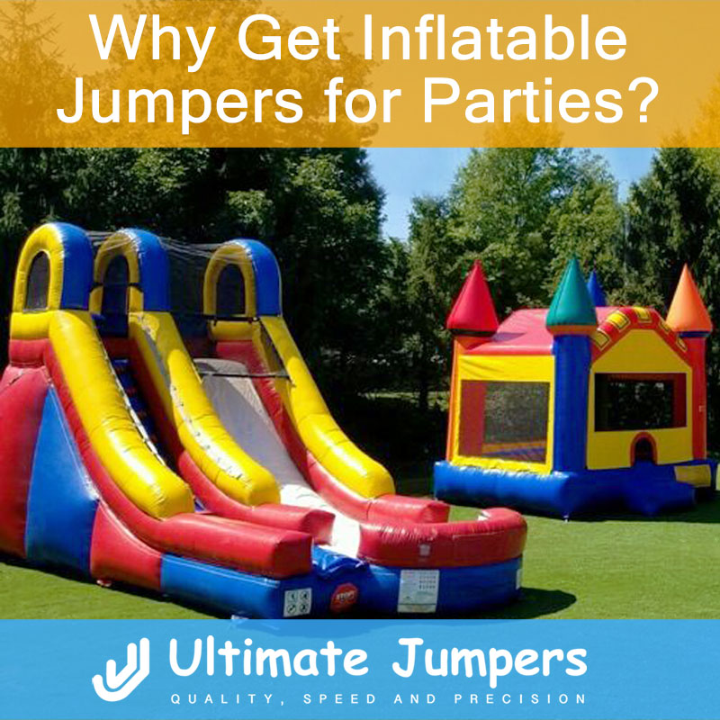 Why Get Inflatable Jumpers for Parties?