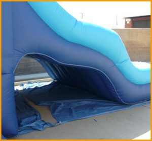 16' Back Load Triple Lane Water Slide