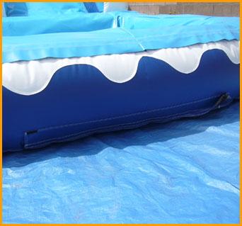 16' Front Load Water Slide
