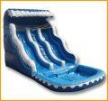 17' Ocean Wave Double Lane Water Slide