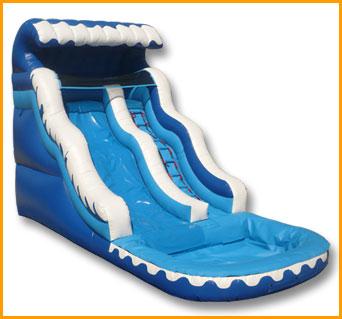 17' Ocean Wave Water Slide