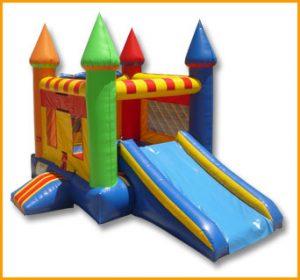2 in 1 Mini Multicolor Castle Combo