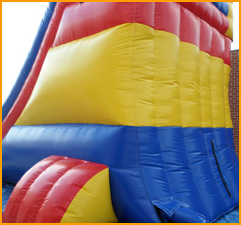 20' Multicolor Wet and Dry Water Slide