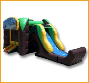 3 in 1 Inflatable Rain Forest Combo