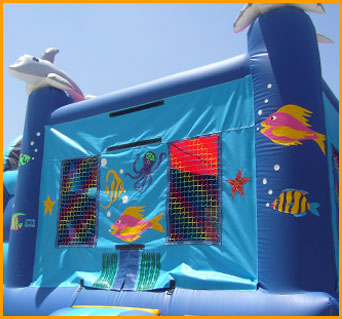 3 in 1 Sea World Combo Jumper