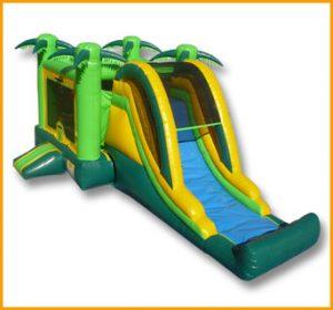 3 in 1 Tropical Jumper Slide Combo