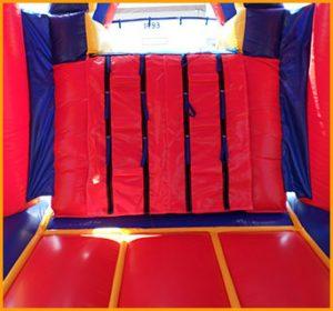 3 in 1 Wet Dry Arch Castle Slide Combo