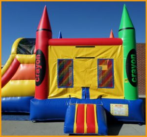 3 in 1 Wet and Dry Inflatable Crayon Combo