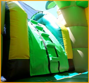 3 in 1 Wet and Dry Inflatable Jungle Combo