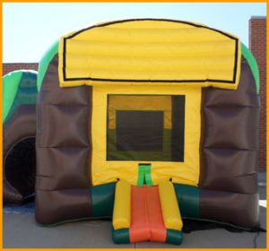 3 in 1 Wet and Dry Inflatable Rain Forest Combo